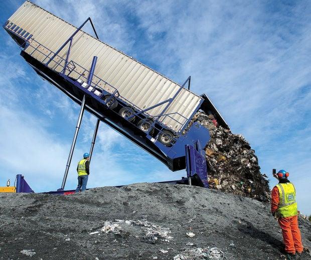 Cowlitz County Begins Shipping Trash To Headquarters