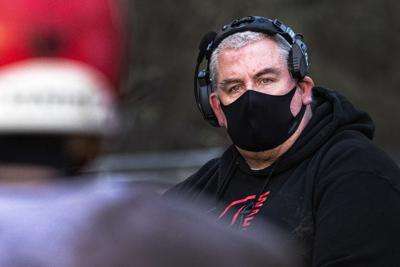 Wahkiakum football head coach Eric Hansen