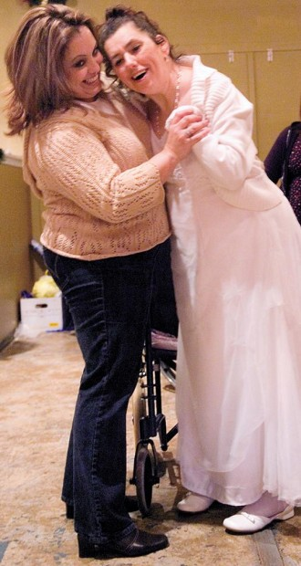 Winter ball: Christmas dance warms the hearts of area's disabled