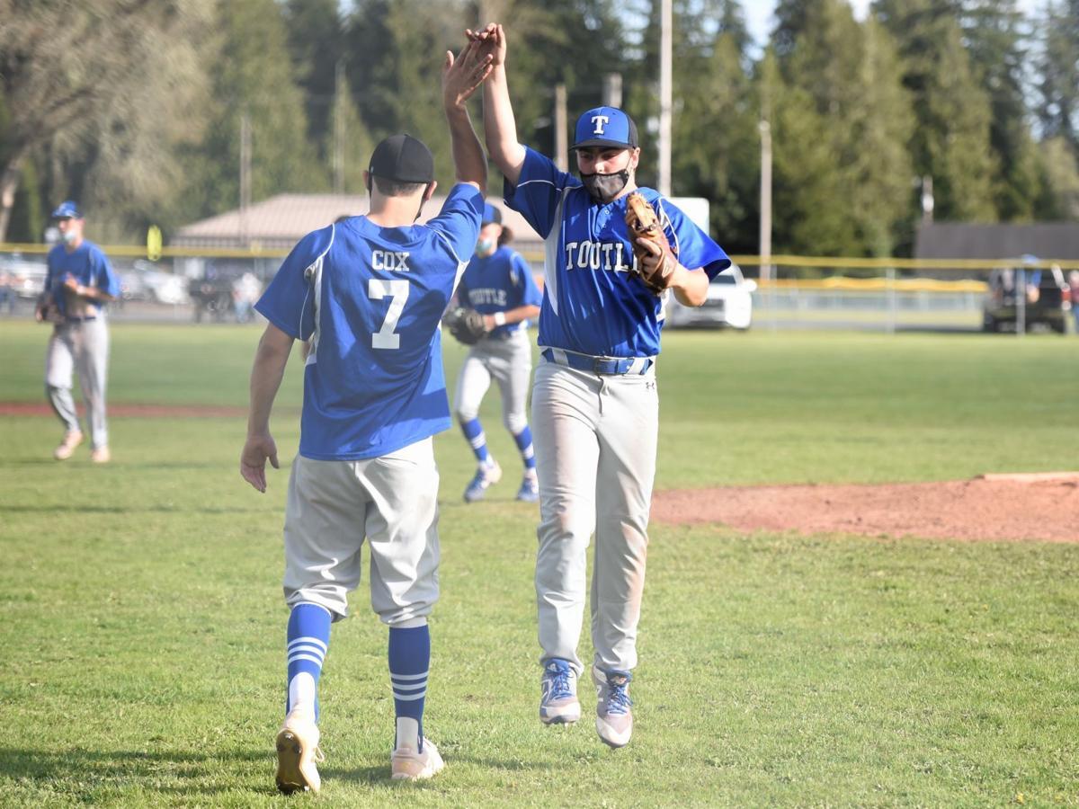 Camden Wheatley and Jackson Cox Toutle Lake baseball