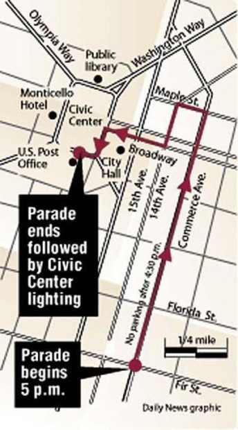 Longview Downtown Holiday Parade information | Local | tdn.com
