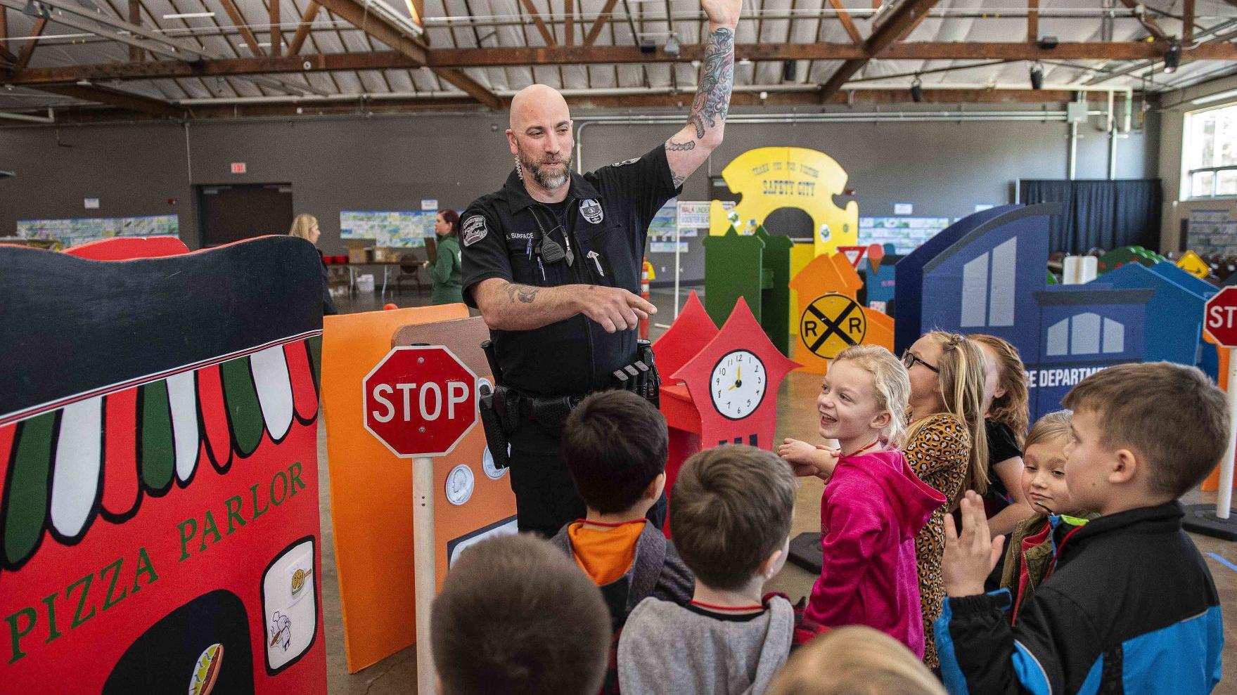 Hundreds of kids attend Cowlitz County first Safety City