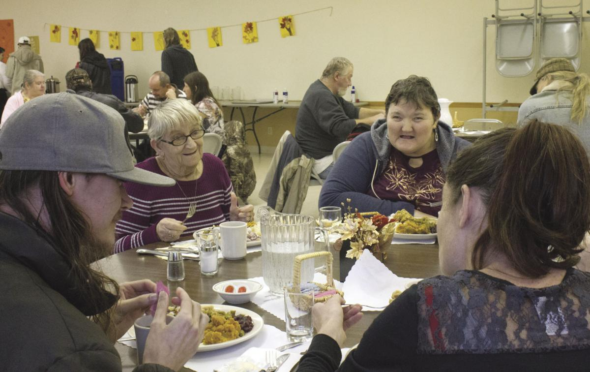 Salvation Army serves up Thanksgiving dinner to more than 150 | Local |  tdn.com