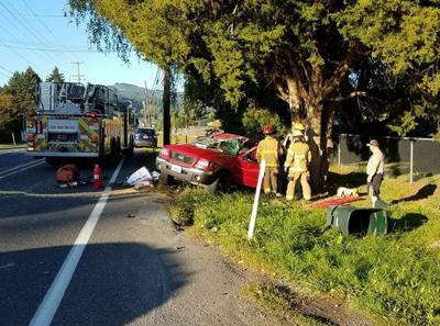 Woodland teen injured in rollover