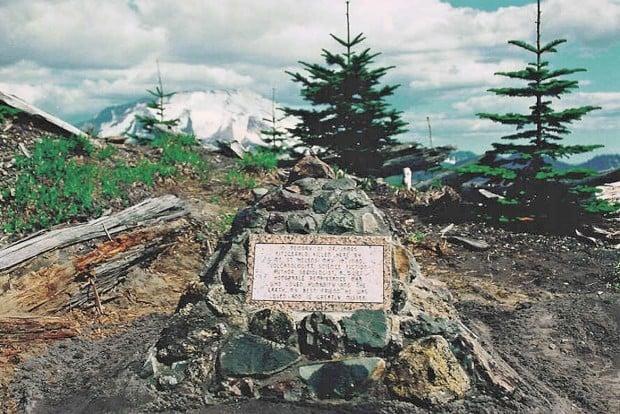 Mount St. Helens: Jim Fitzgerald memorial