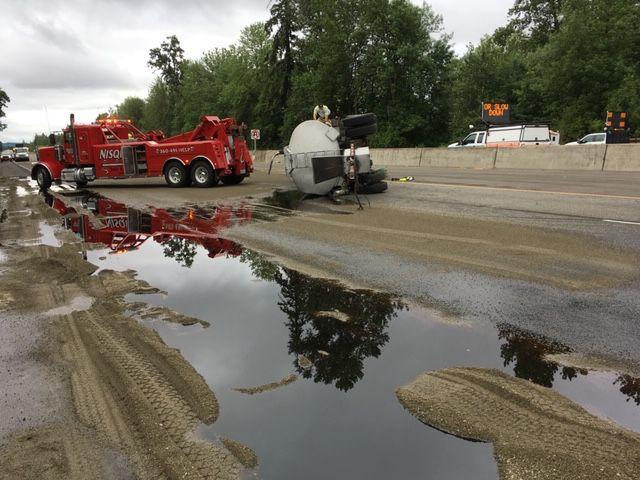 Tanker oil spill