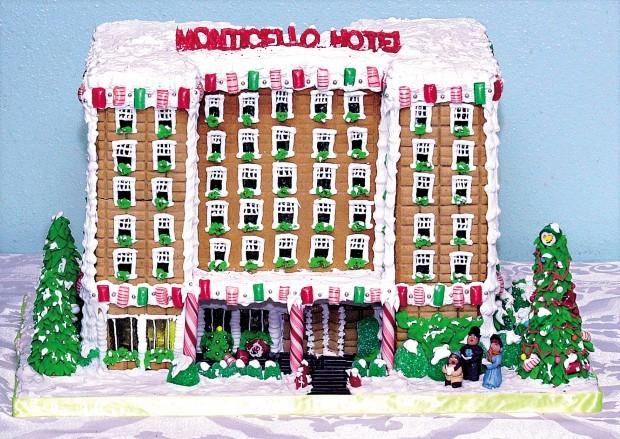 Monticello gingerbread