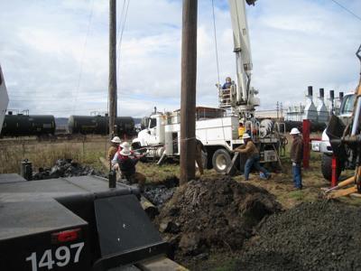 PUD substation work