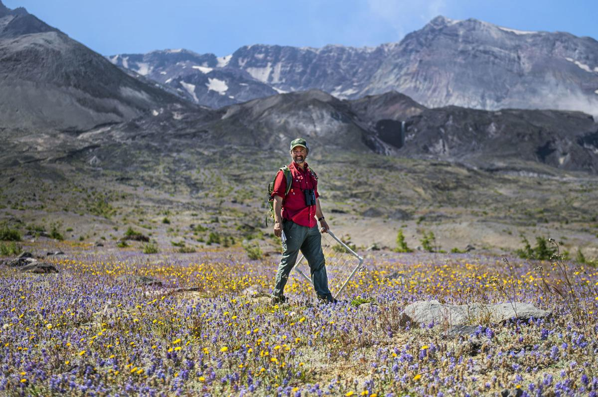John Bishop and the mighty Mount St. Helens