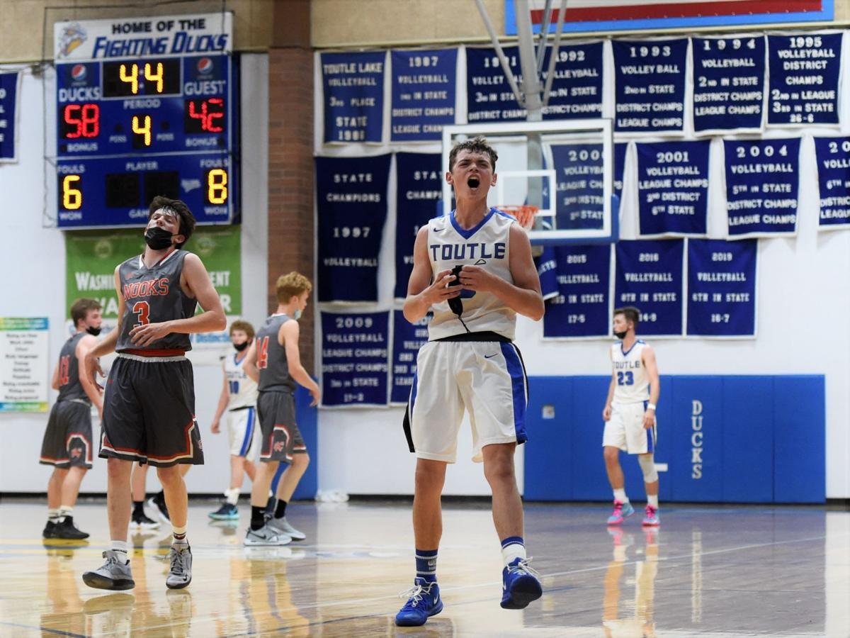Connor Cox Toutle Lake boys basketball