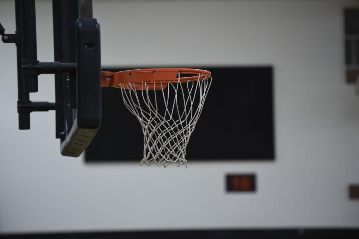 Basketball hoop stock