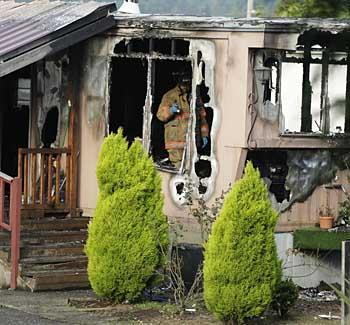 Arson Suspected In Fatal Snohomish Mobile Home Fire