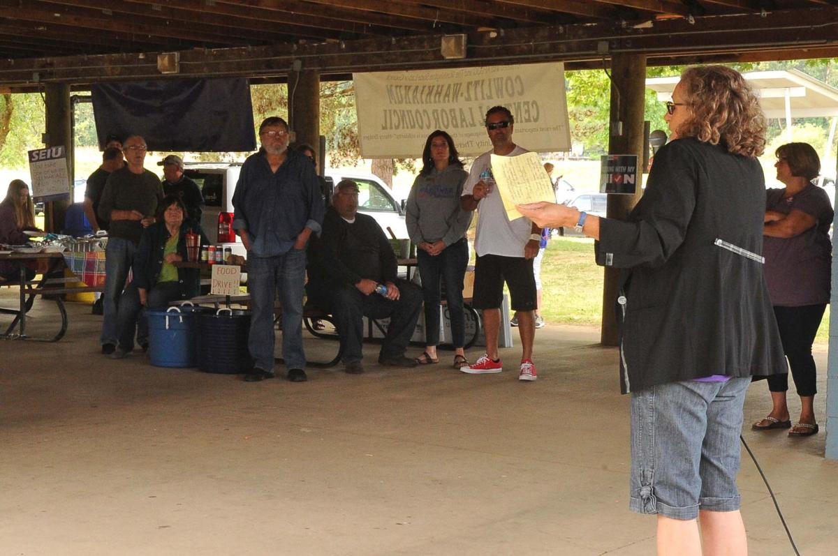 Union members gather in Kelso for Labor Day picnic
