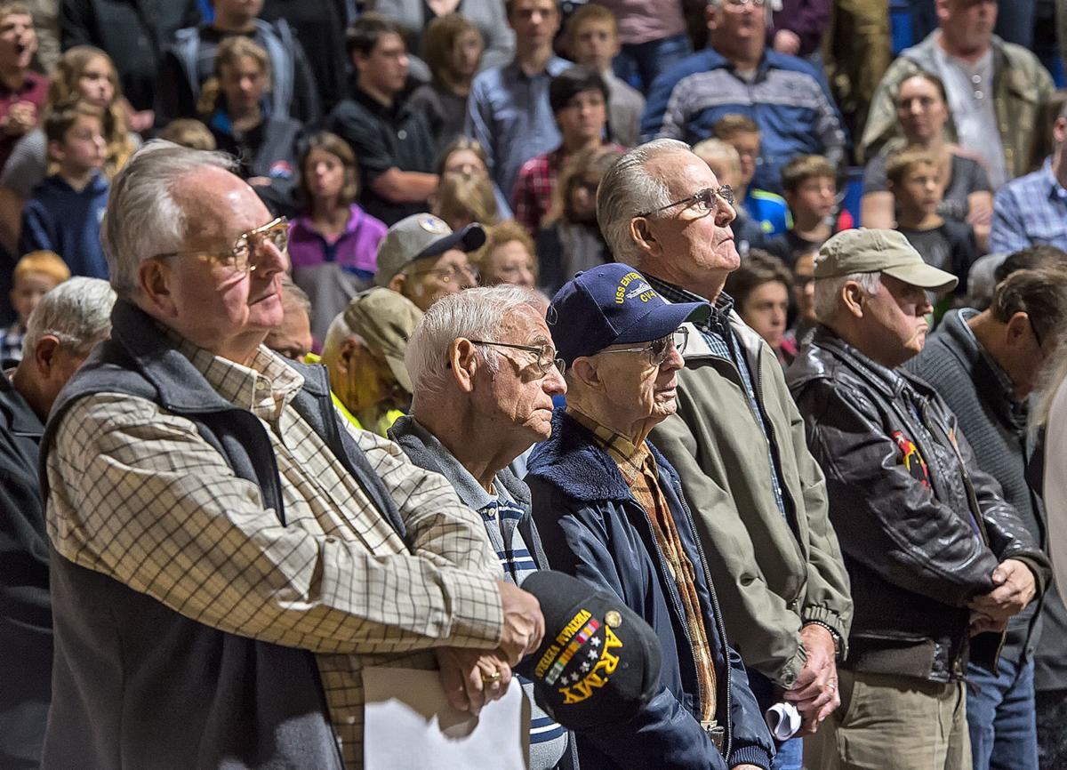 Kelso High veterans' assembly
