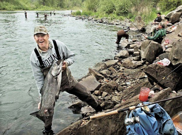 With columbia closed spring chinook anglers look to for Cowlitz river fishing