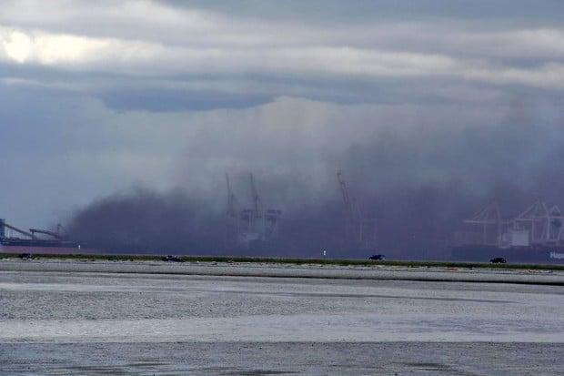 Westshore Terminals wind