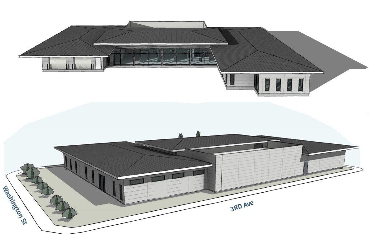 Rendering of new morgue