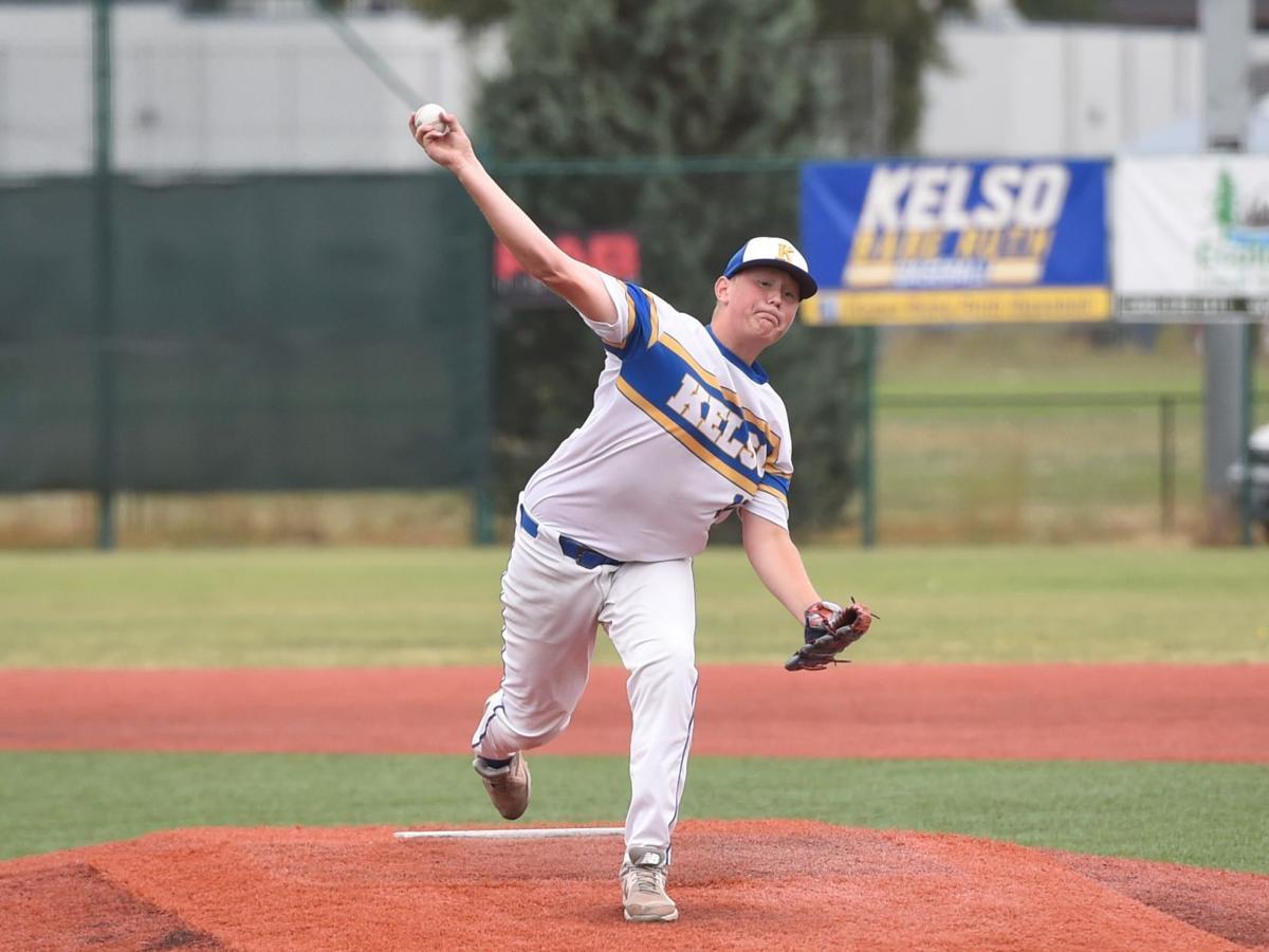Logan Barker Kelso baseball
