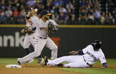 M's bats fail in loss to Astros