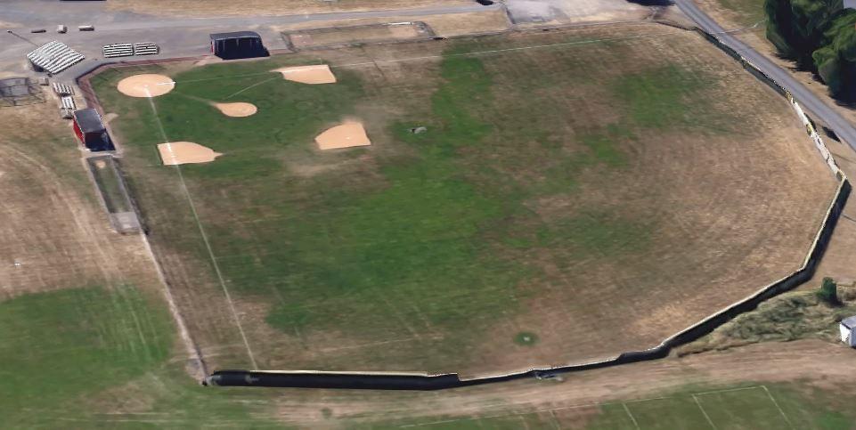 Lovely Baseball Fence topper
