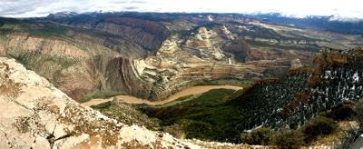 Dinosaur National Monument — Steamboat Rock