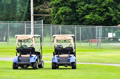 Empty golf