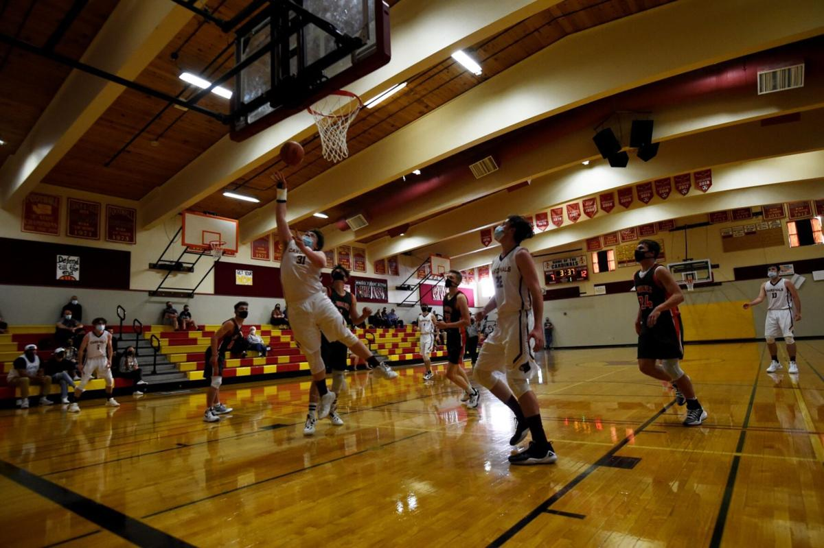 Nolan Swofford scoop and score WInlock basketball