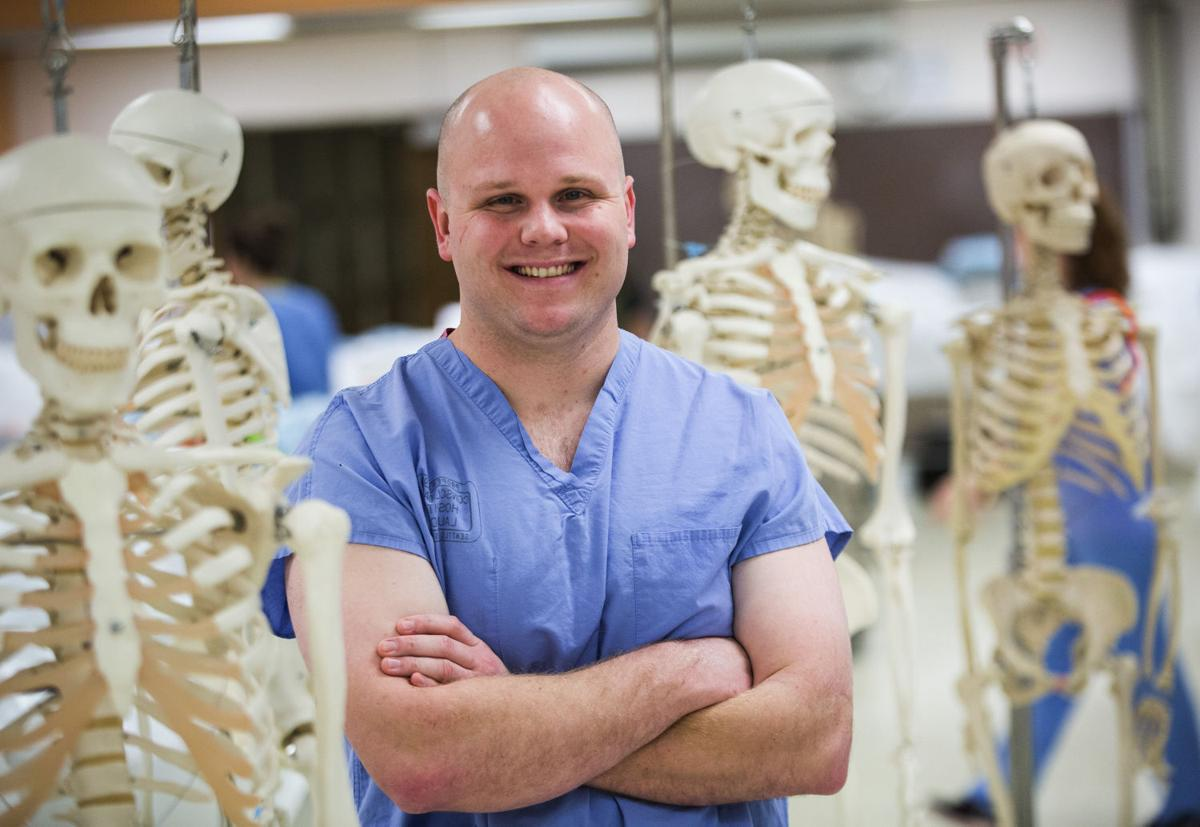 Man\'s remarkable journey from high-school dropout to medical student ...