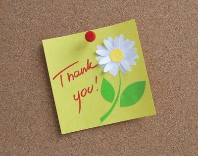 Logo: Thanks to You