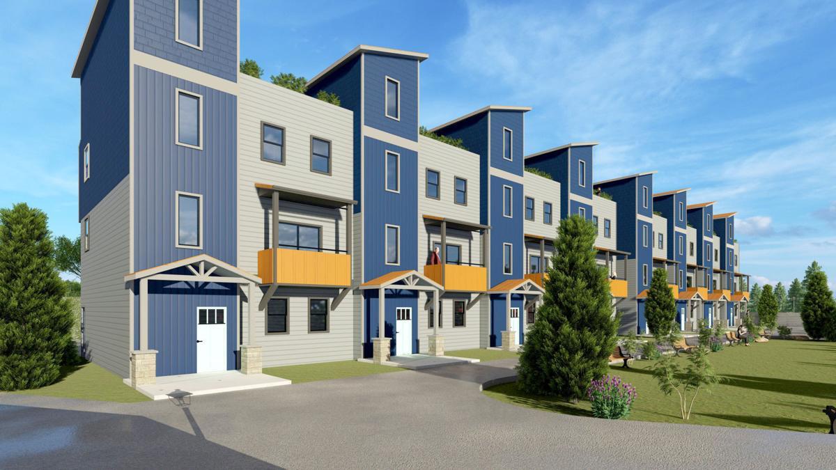 Riverfront Towers condominiums - Castle Rock