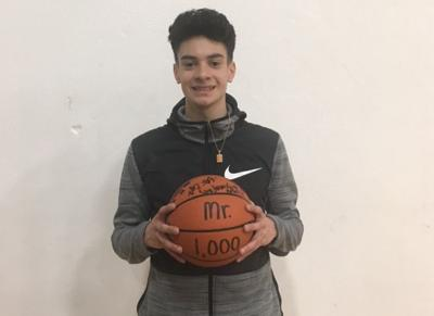 Rainier player scores 1,000th point