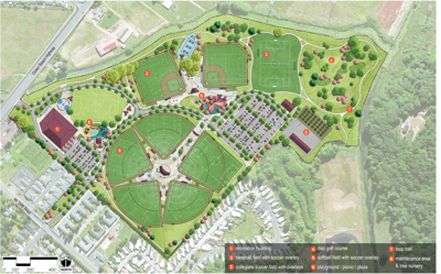 Roy Morse Park sports complex master plan