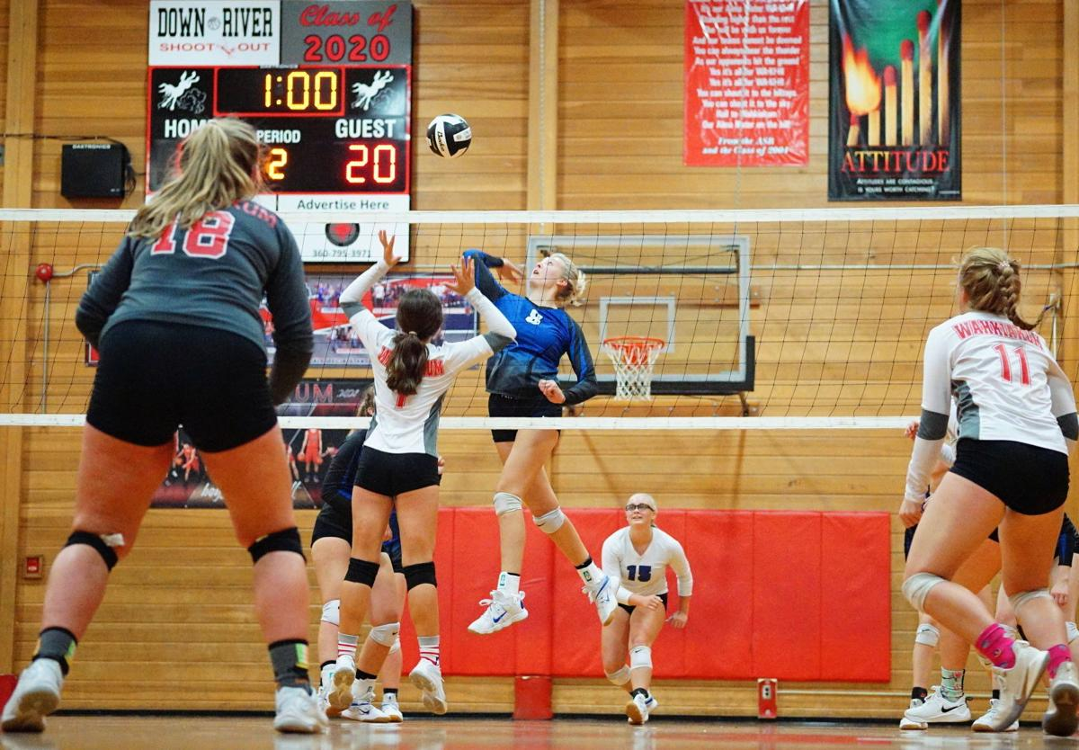 Grace Hadaller Toutle Lake volleyball
