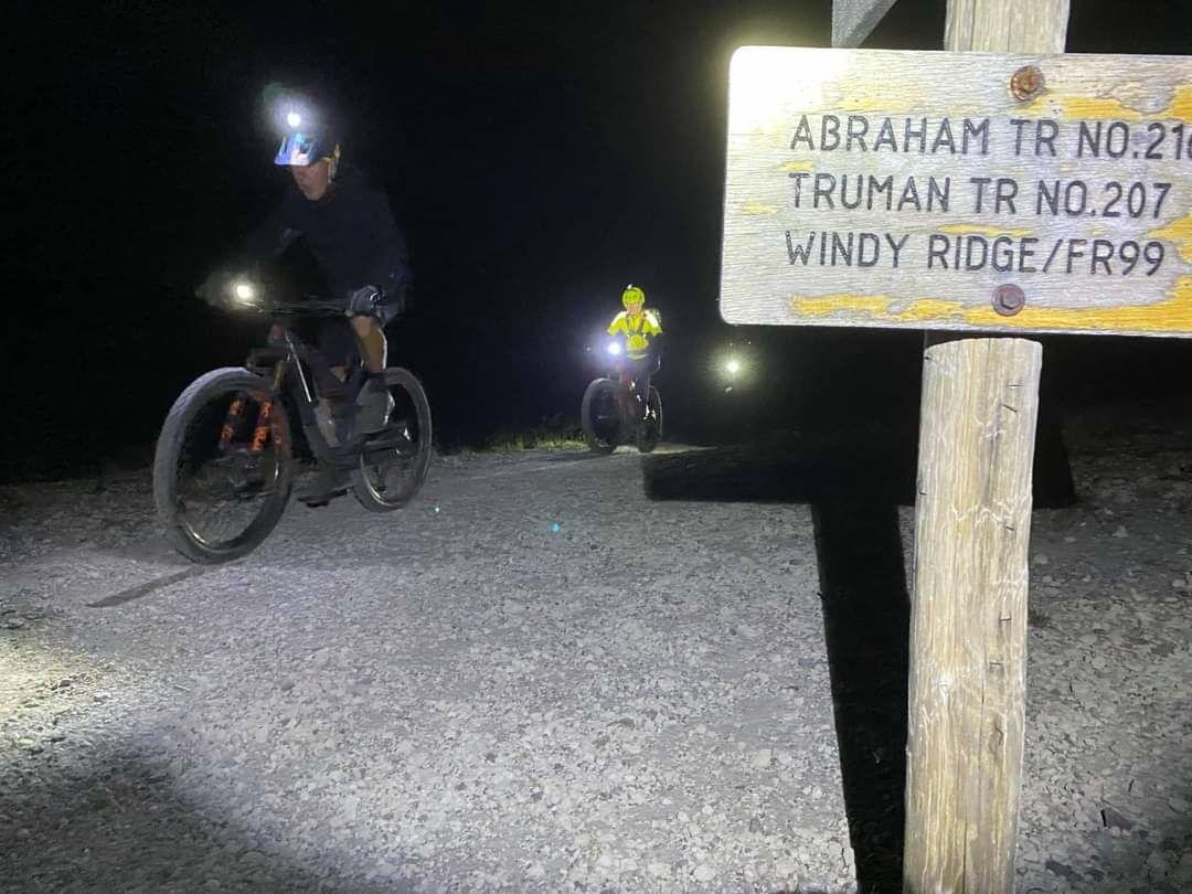 Jim Lemonds bike ride courtesy