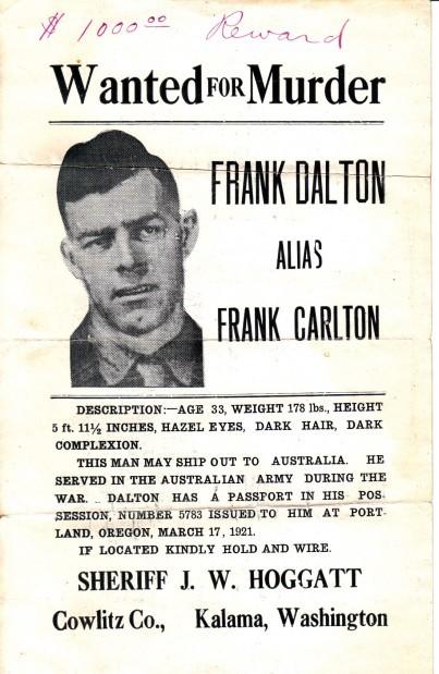 Sheriffs: Frank Dalton poster