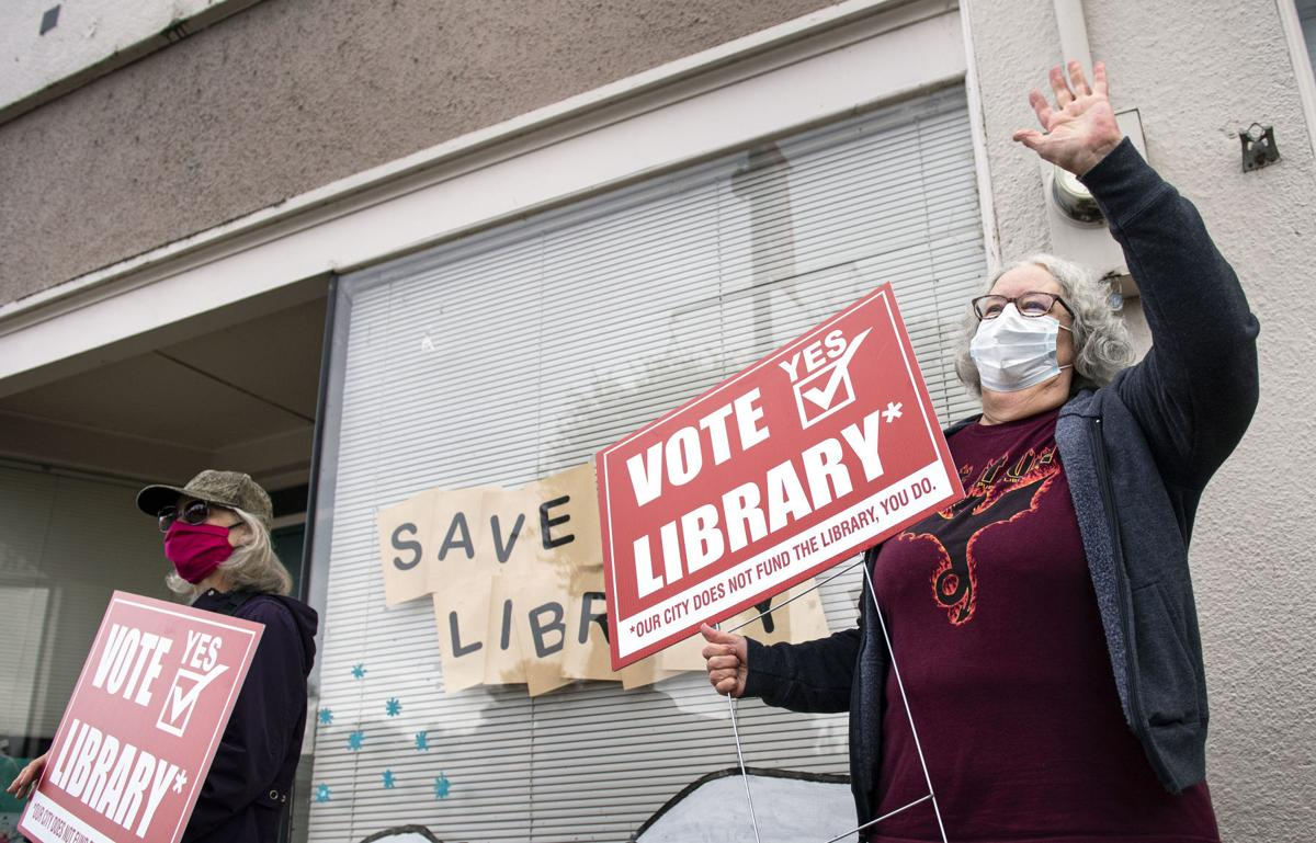 Vote yes on library