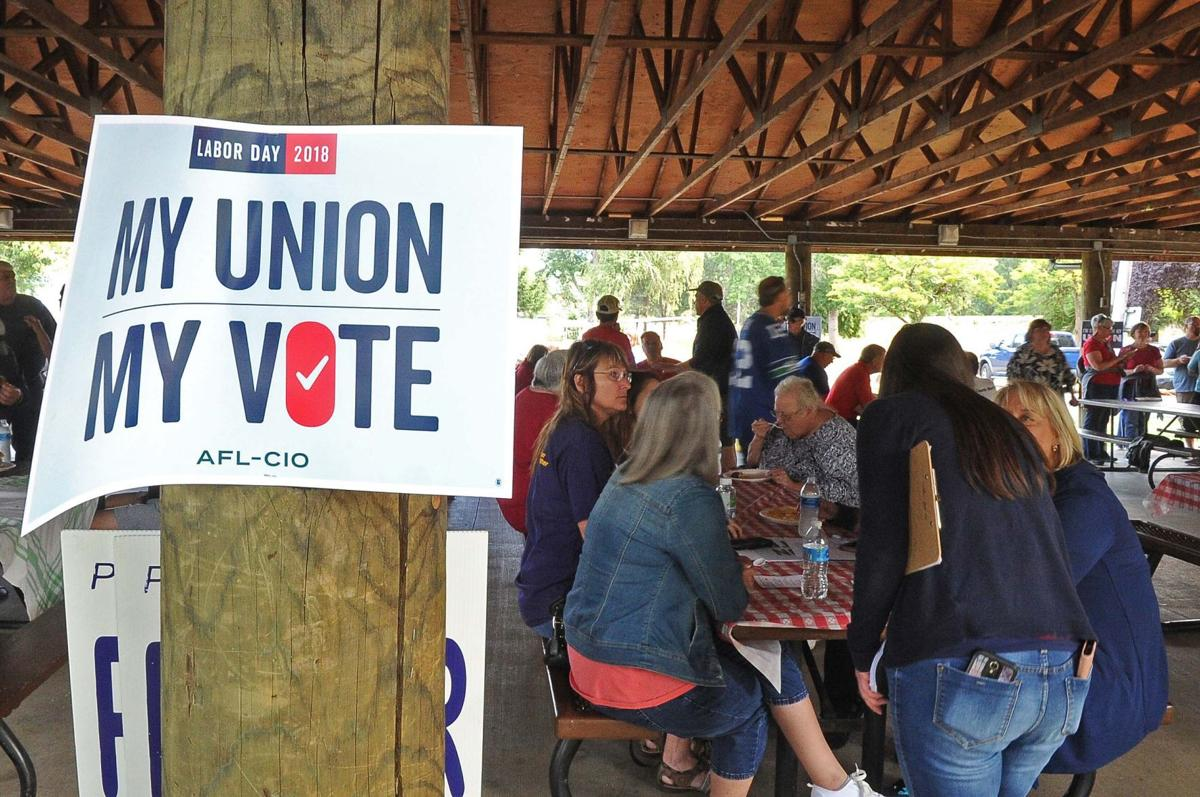 Union members gather for Labor Day picnic