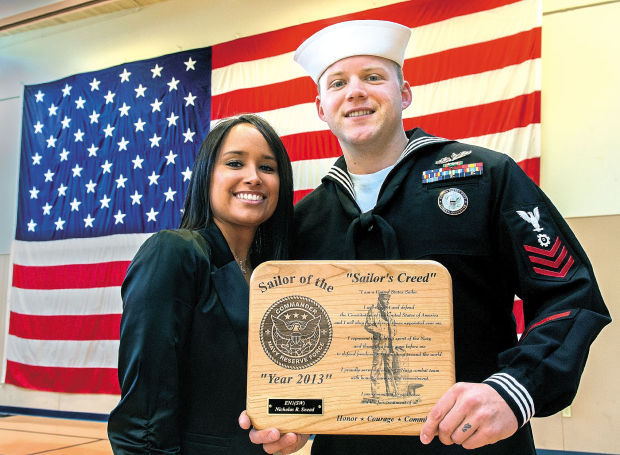 woodland man named 2013 navy reserve force shore sailor of the year