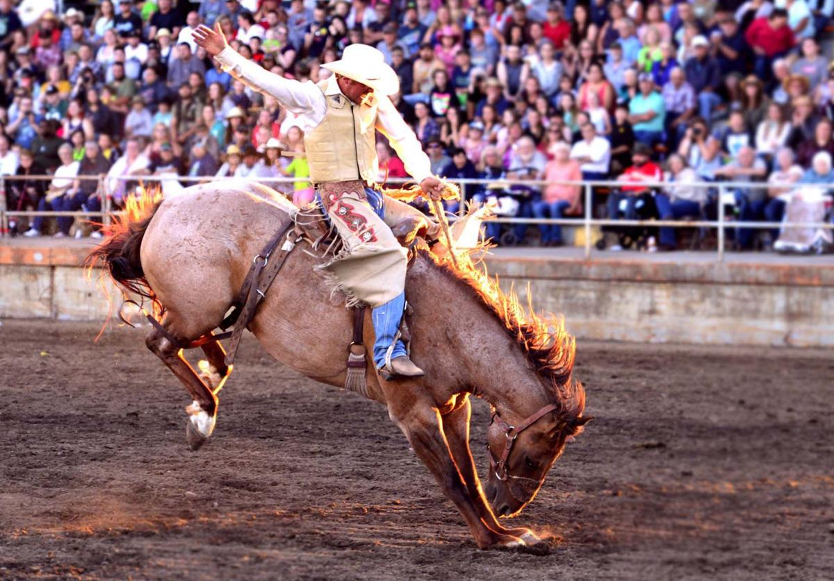 Thunder Mountain Pro Rodeo St Clair S Odd Night Leads To