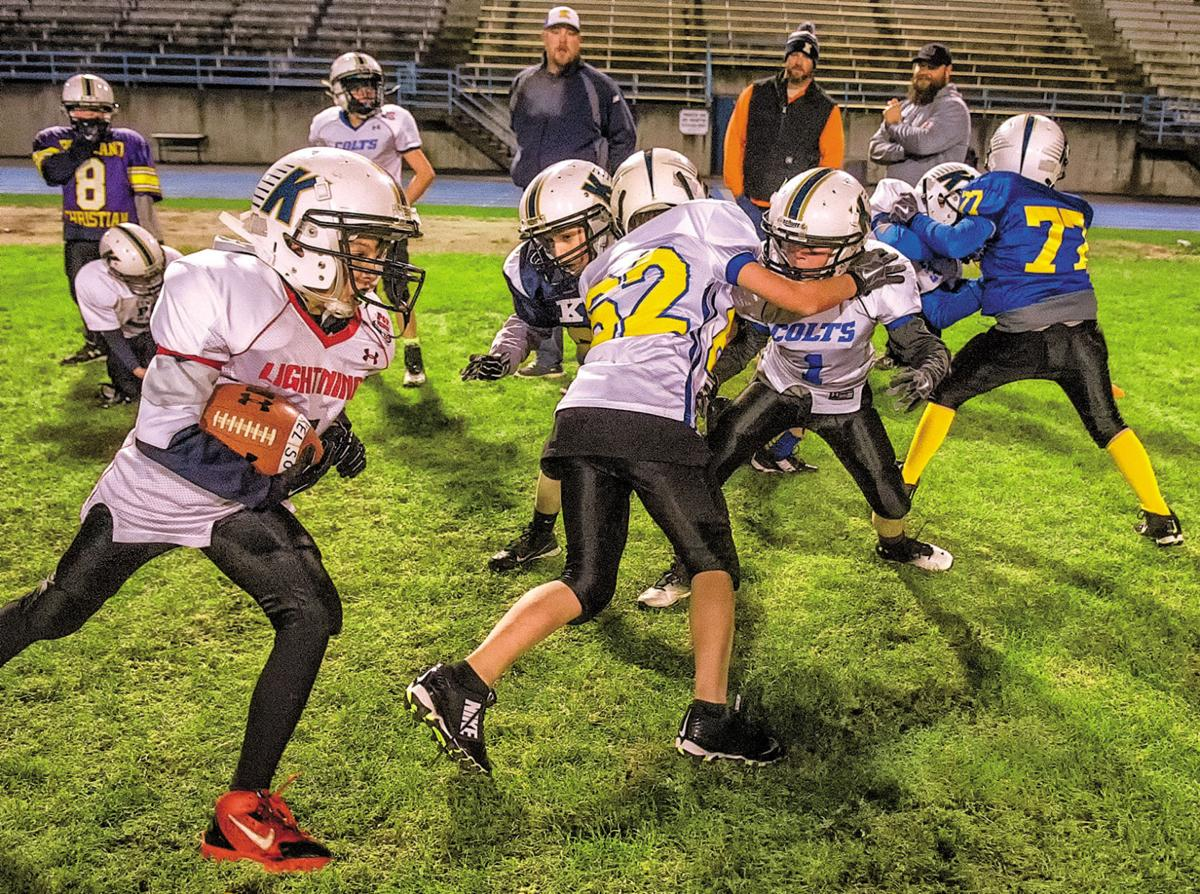 Junior Hilanders Pop Warner football