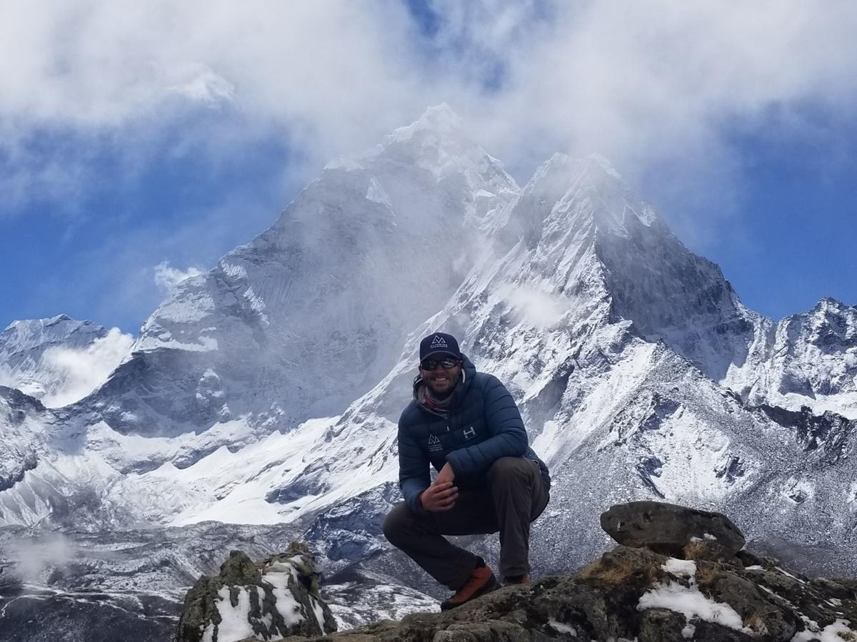 Mark Morris alum: conquering Everest about the climb, not