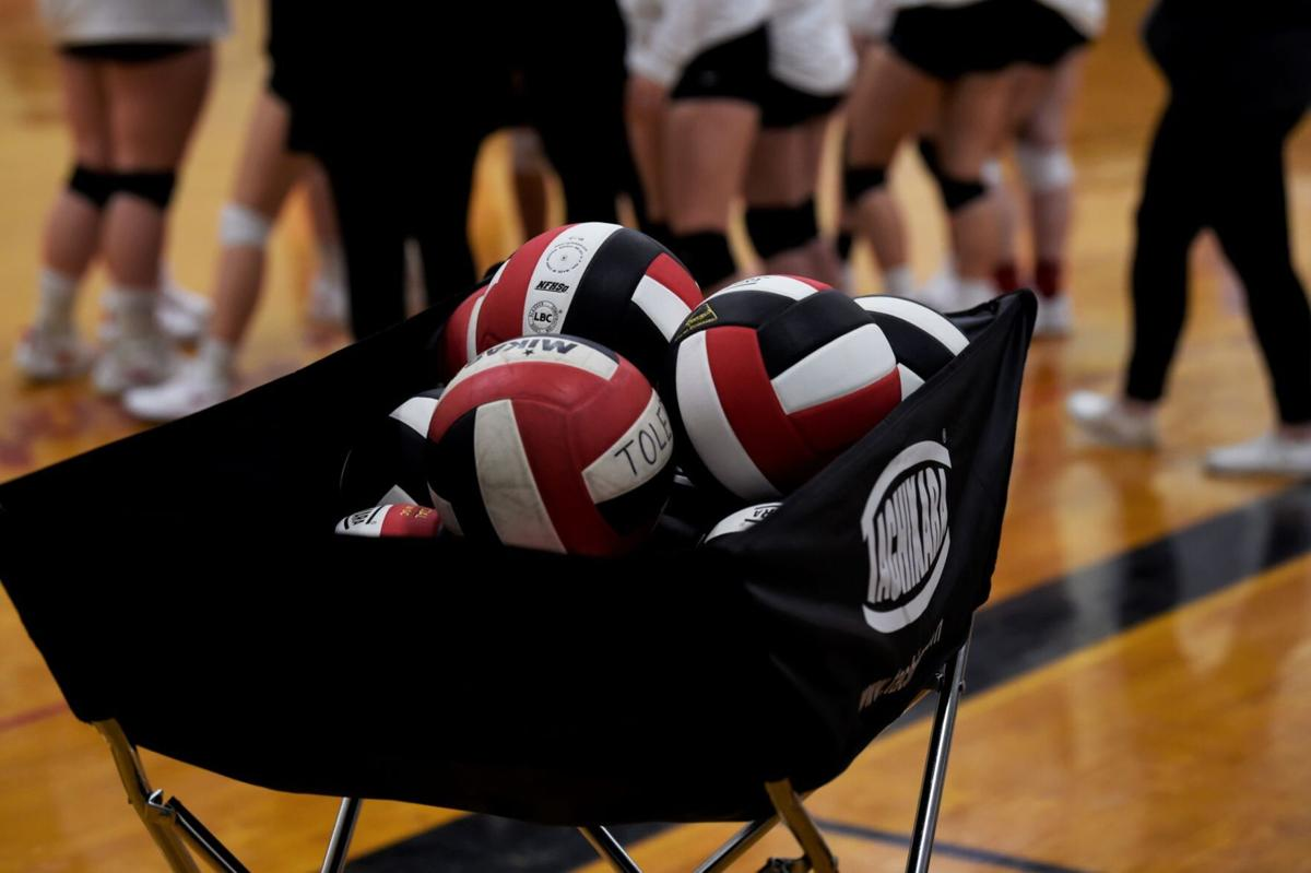 Volleyballs sidelined