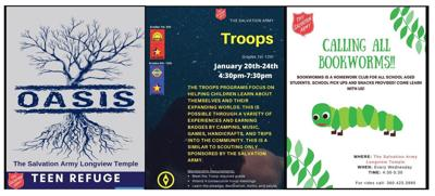 Salvation Army youth programs