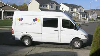 6e0ddd3fbe People and Their Wheels  Karolyn McFadzen s 2005 Dodge delivery van ...