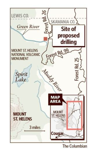 Proposed mineral exploration area