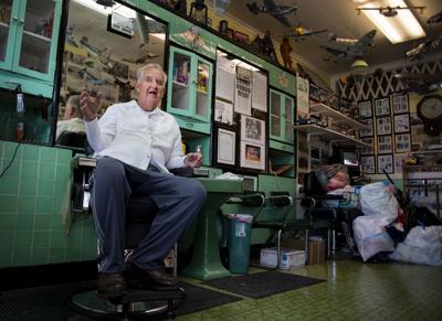 Local barber retires