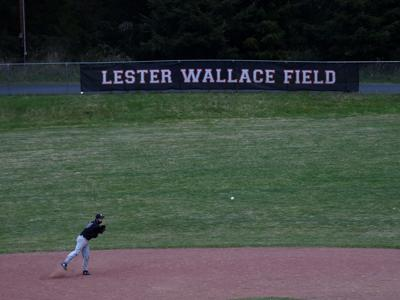 Lester Wallace field banner