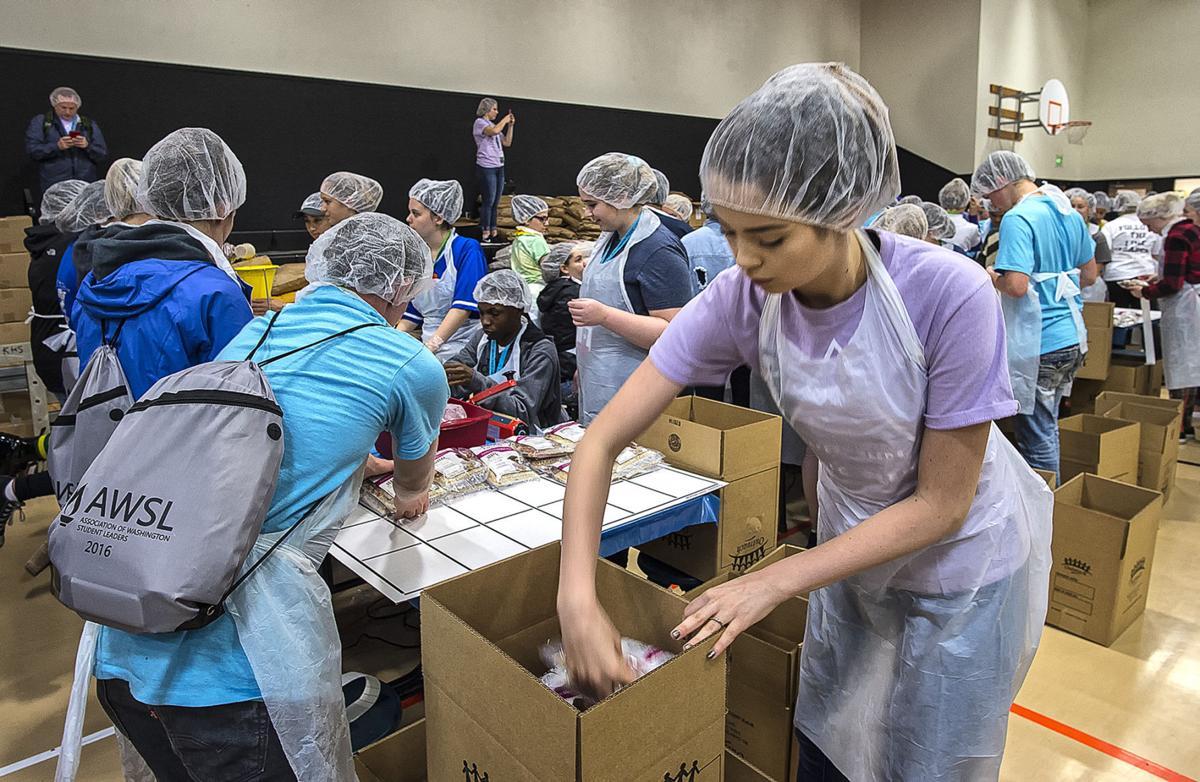 Helping food banks