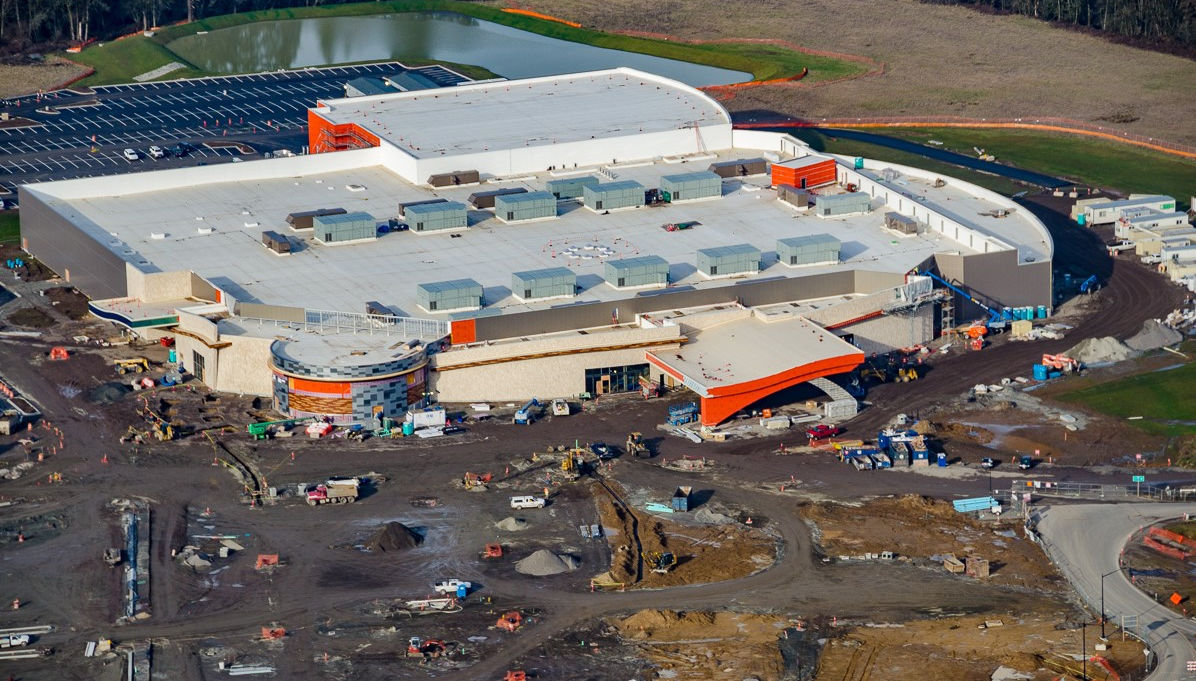 Casino aerial shot
