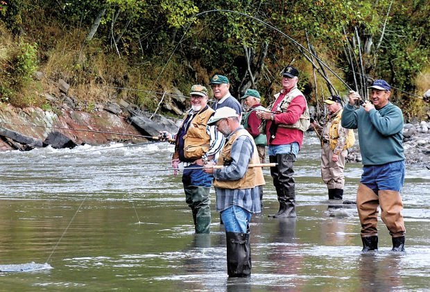 Anglers Protest State Plan To Remove Hatchery Fish From